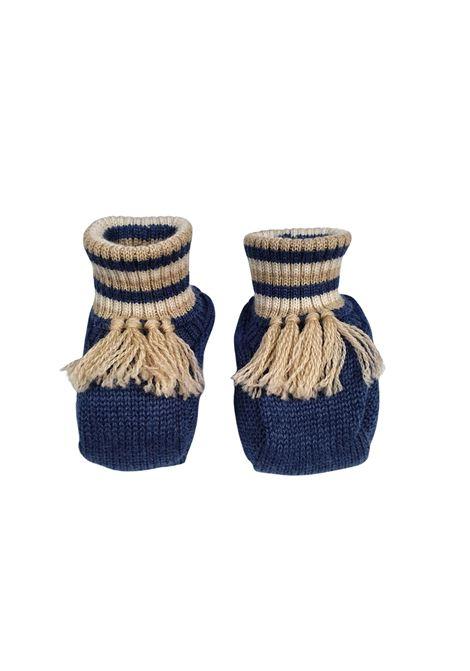 Scarpe calzino in lana blu marlu | Scarpe | IC65SBLU