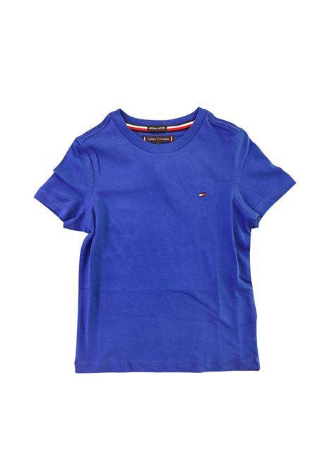 t-shirt blu basic tommy hilfiger | T-shirt | B06130JC7C