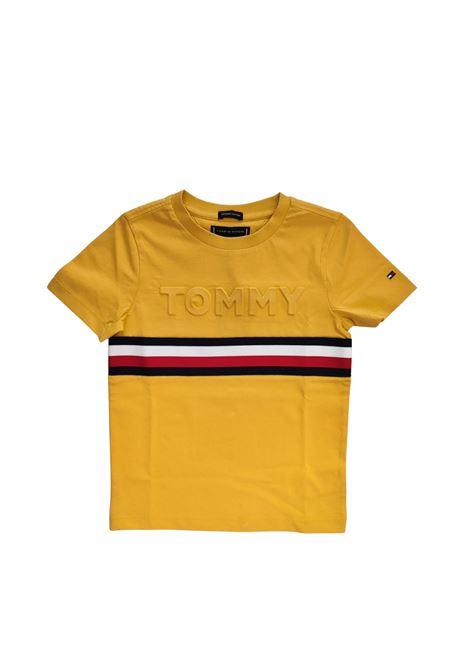 t-shirt gialla tommy tommy hilfiger | T-shirt | B06320JZFU