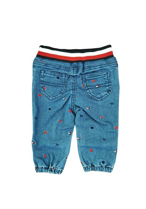 jeans banda larga tommy hilfiger   Pantaloni   N01247J1A4