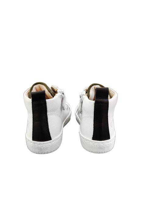 sneaker bianca con stella walkey | Scarpe | Y1B441346VERDE