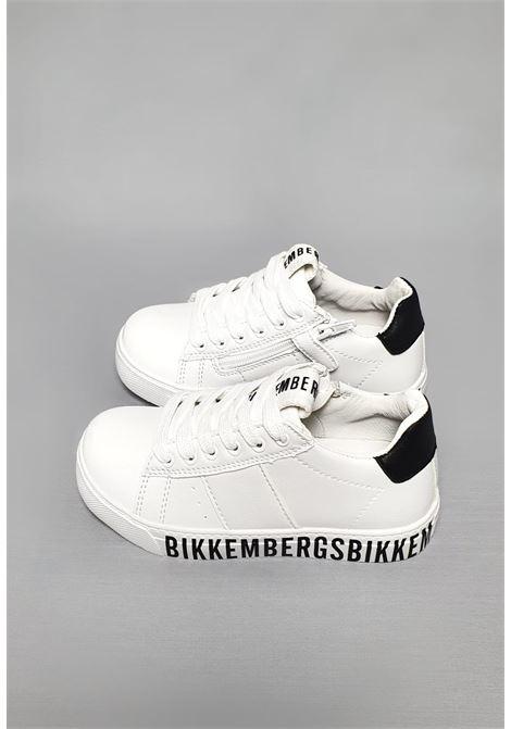SNEAKERS BIANCA PARA LOGATA bikkembergs schoes | Scarpe | 20511BIANCO