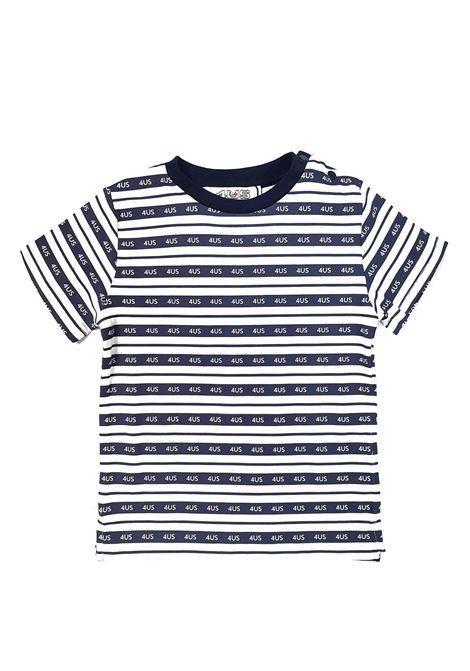 T-SHIRT RIGATA LOGHI cesare paciotti | T-shirt | TSP1152BUNI