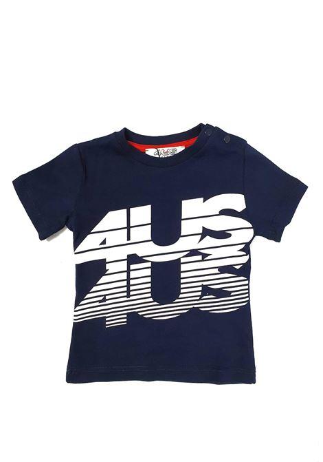 T-SHIRT BLU 4US cesare paciotti | T-shirt | TSP1155BUNIBLU