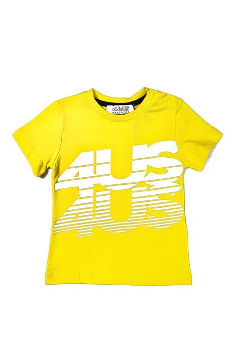 T-SHIRT GIALLA 4US cesare paciotti | T-shirt | TSP1155BUNIGIALLO