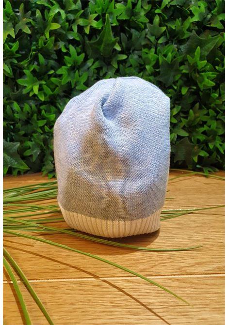 cappello ion cotone azzurro e bordo bianco colori chiari | Cappelli | MF785663UNI