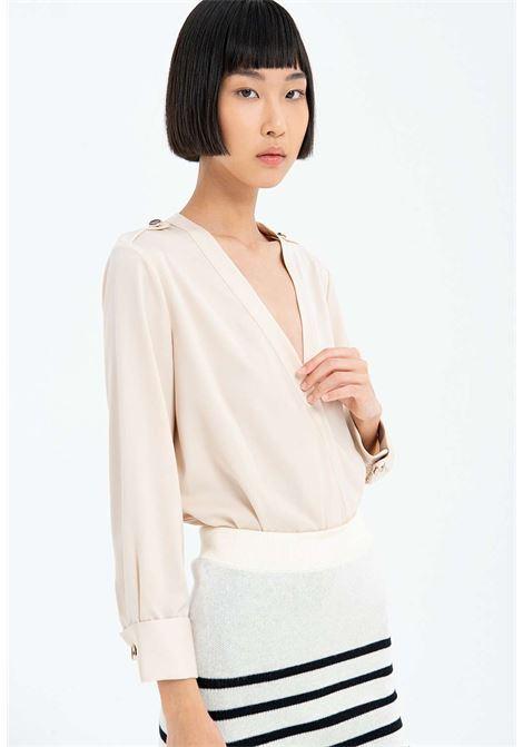 Camicia beige fracomina fracomina | Camicie | ST5001LATTE