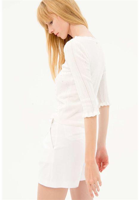 Maglione bianco fracomina fracomina | Maglieria | ST7012CREMA