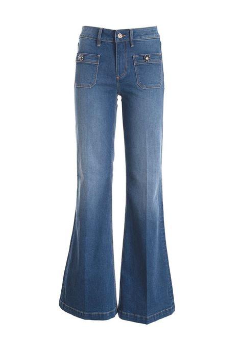 Jeans a trombetta fracomina fracomina | Pantaloni | SV3002DENIM