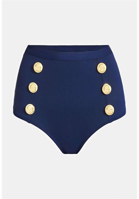 Brasiliana blu guess GUESS beachwear | Costumi | E1G006MC046NAVY