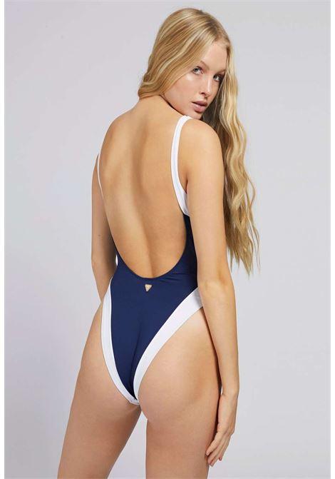 Intero blu guess GUESS beachwear | Costumi | E1GJ12MC046NAVY