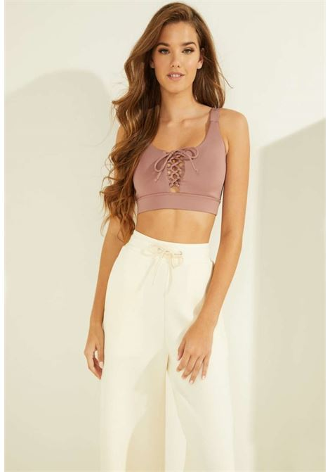 TOP FIT ROSA GUESS GUESS beachwear | Top | OOBA15MC045MALVA