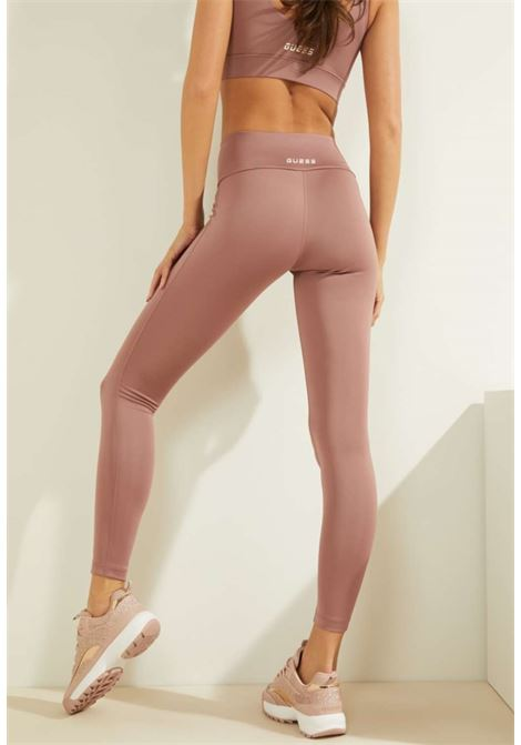 LEGGINS FIT ROSA  GUESS GUESS beachwear | Pantaloni | OOBA16MC03WMALVA