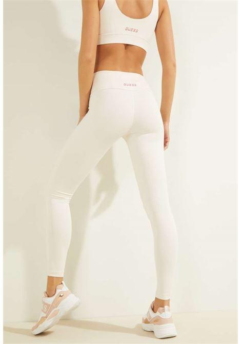 LEGGINS BIANCO GUESS GUESS beachwear | Pantaloni | OOBA16MC03WPESCA
