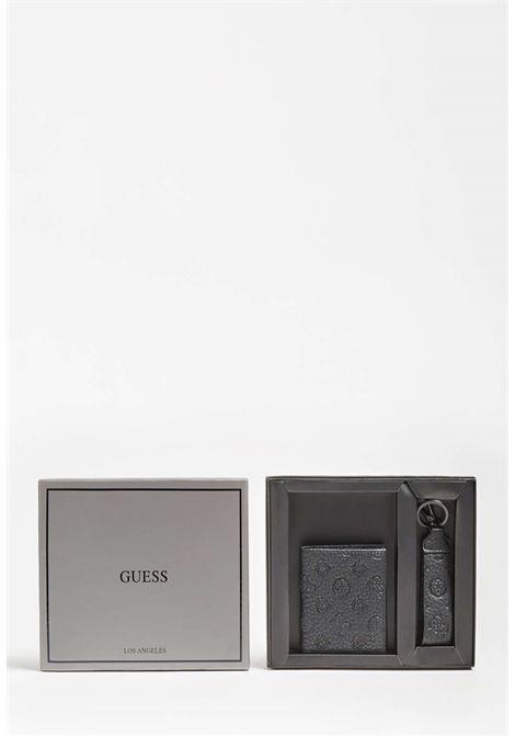 Set nero guess GUESS borse man | Portafogli | GIF090LEA22BLACH