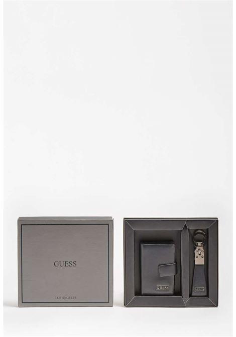 Set nero guess GUESS borse man | Portafogli | GIF093BLACH