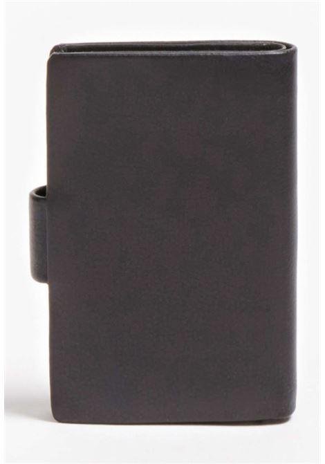 Portafoglio nero guess GUESS borse man | Portafogli | NEWBLEA29BLACH