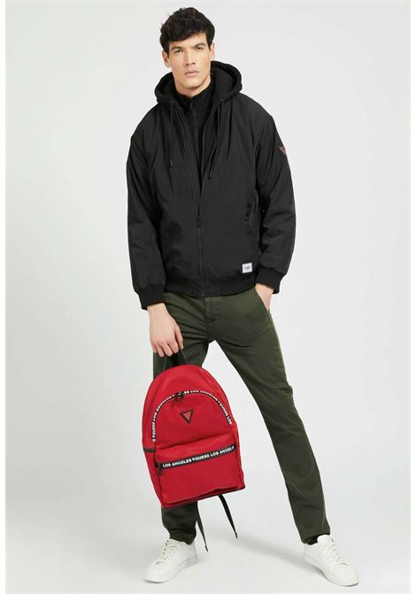 Zaino rosso guess GUESS borse man | Borse | QUSPP1205RED