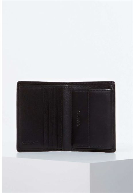 Portafogli nero guess GUESS borse man | Portafogli | SM2662BLACH