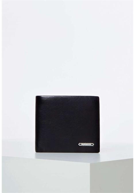 Portafogli nero guess GUESS borse man | Portafogli | SM2663BLACH