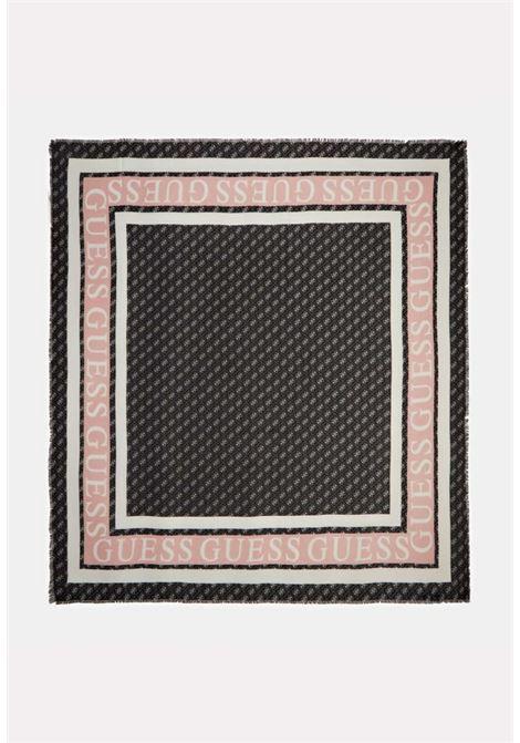 Foulard nero guess GUESS borse | Foulard | AW8606BLACH