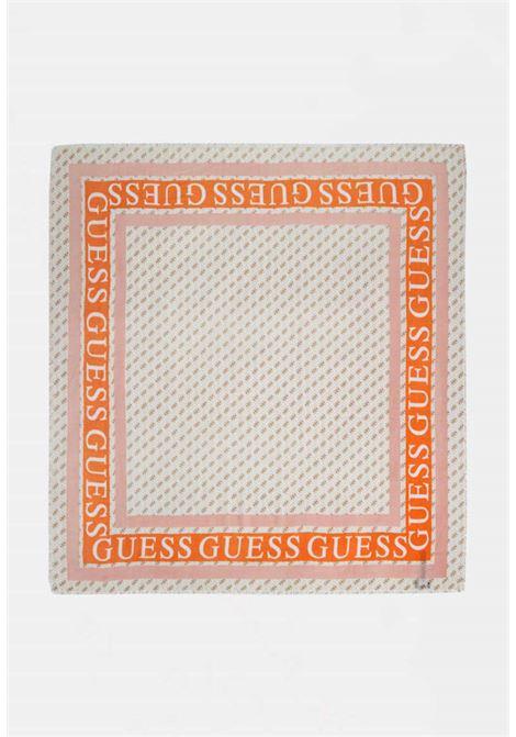 Foulard bianco guess GUESS borse | Foulard | AW8606WHITE