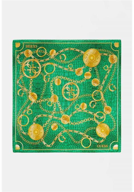 Foulard verde guess GUESS borse | Foulard | AW8622GREEN