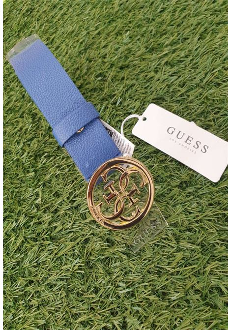 CINTURA GUESS BLU LOGO '4G' GUESS borse | Cinture | BW7421BLU
