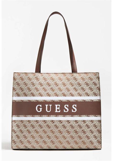 SHOPPER MARRONE GUESS GUESS borse | Borse | JY7894230BROWN