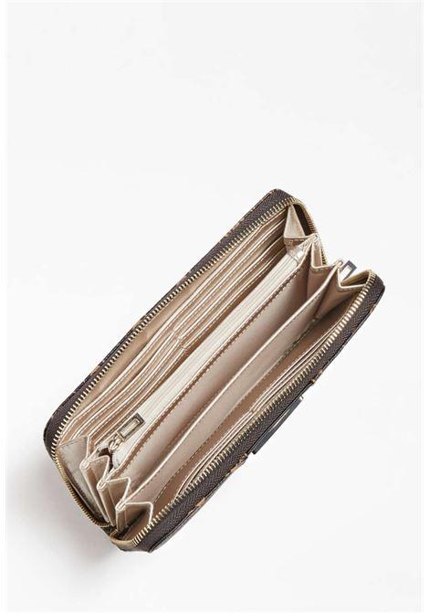 Portafoglio logato nero guess GUESS borse | Portafogli | SG7966460BROWN