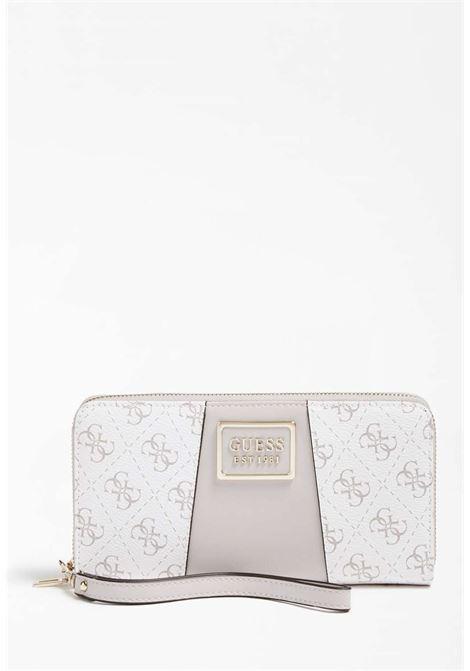Portafoglio bianco guess GUESS borse | Portafogli | SG7966460WHITE