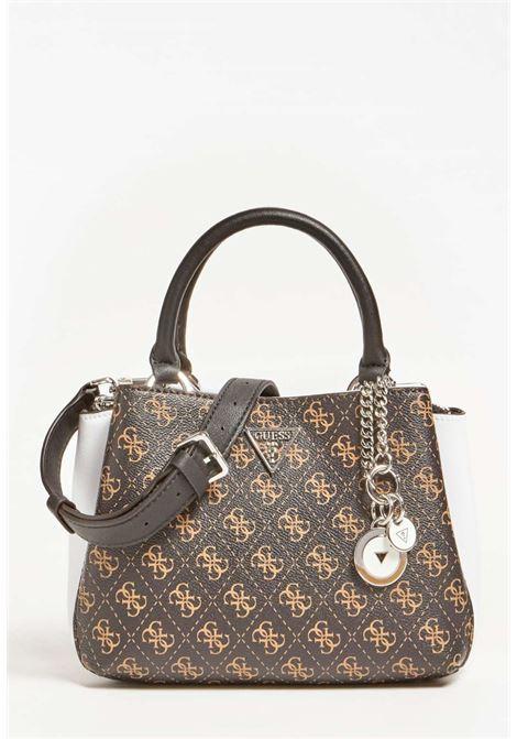 Mini-bag logata guess GUESS borse | Borse | SY8108050BROWN