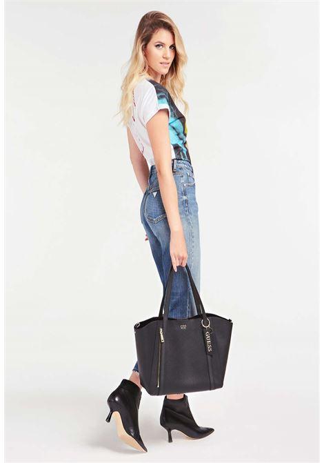 Shopper nera guess GUESS borse | Borse | VG7881230BLACH