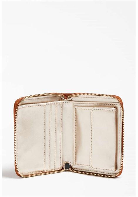 Mini-portafoglio cuoio guess GUESS borse   Portafogli   VG7881370COGNAC