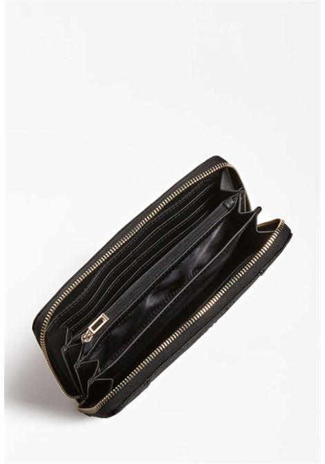 Portafoglio nero guess GUESS borse | Portafogli | VG7881460BLACH