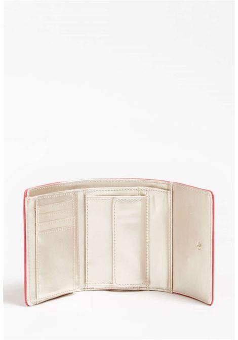 Mini-portafoglio rosso guess GUESS borse | Portafogli | VG7965430PASSION