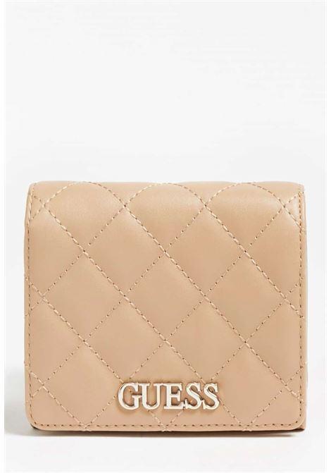 Mini-portafoglio cuoio guess GUESS borse | Portafogli | VG7970430BEIGE