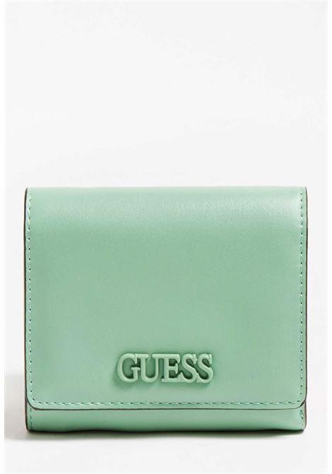 Mini-portafoglio verde guess GUESS borse | Portafogli | VG8109430GREEN