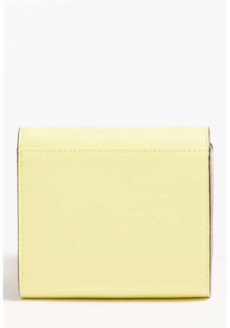 Mini-portafoglio giallo guess GUESS borse | Portafogli | VG8109430LIME