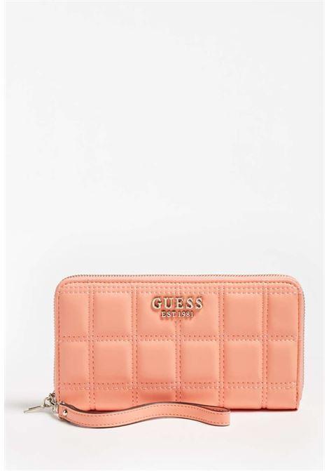 Portafoglio corallo guess GUESS borse | Portafogli | VG8111460CORAL