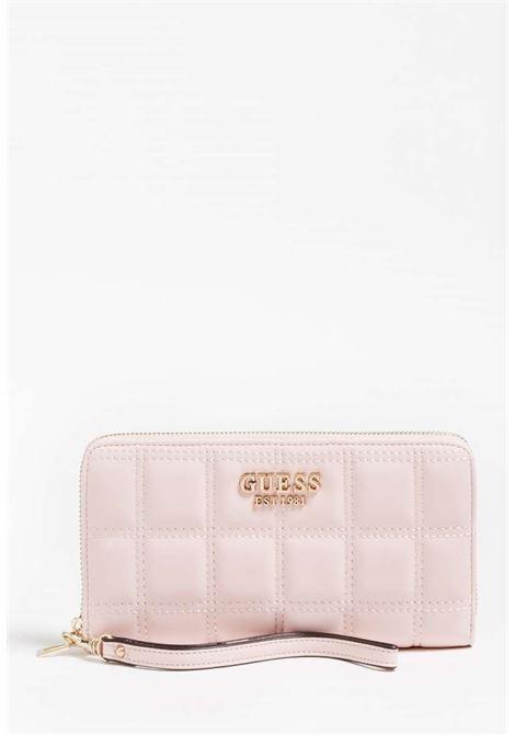 Portafoglio rosa guess GUESS borse | Portafogli | VS8111460BLUSH
