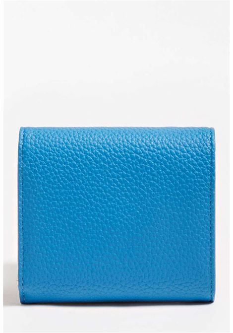 Mini-portafoglio blu guess GUESS borse | Portafogli | VY7301430BLU