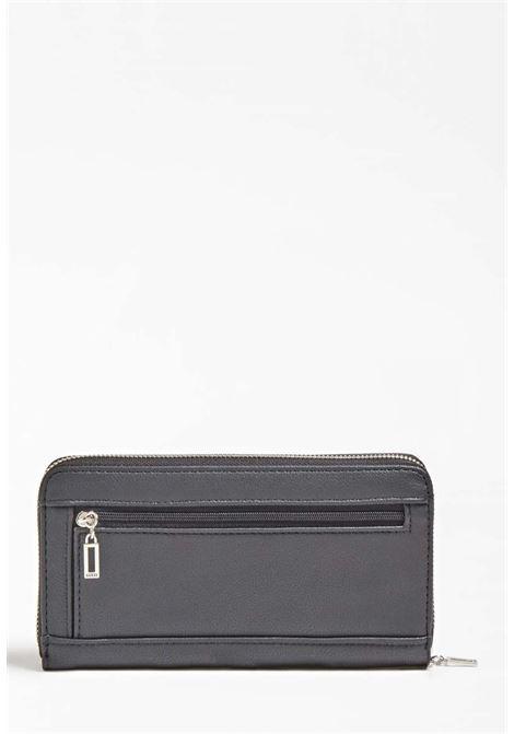 Portafoglio nero guess GUESS borse | Portafogli | VY8108460BLACH