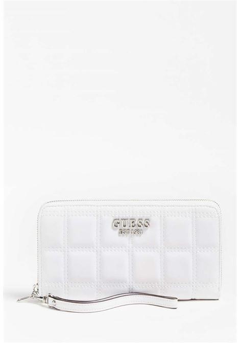 Portafoglio bianco guess GUESS borse | Portafogli | VY8111460WHITE