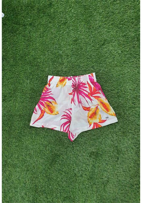 Short a fantasia guess GUESS fitness | Gonna e Shorts | E1GD02WOO5MBIANCO