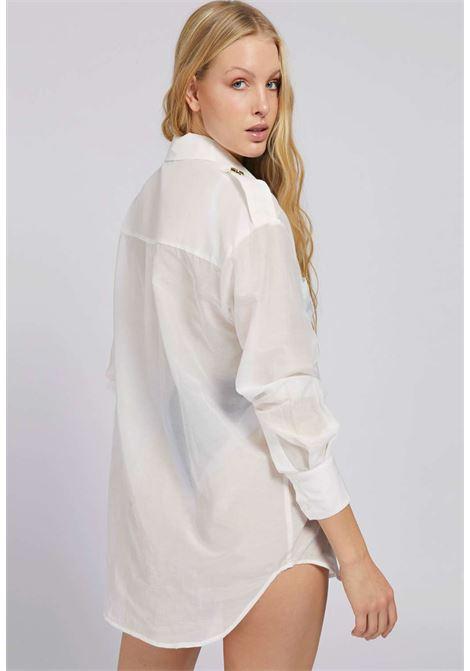 Camicia bianca guess GUESS fitness | Camicie | E1GH00WCVF0BIANCO