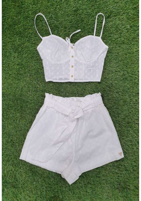 Top bianco guess GUESS fitness | Top | E1GH05WOO5PBIANCO