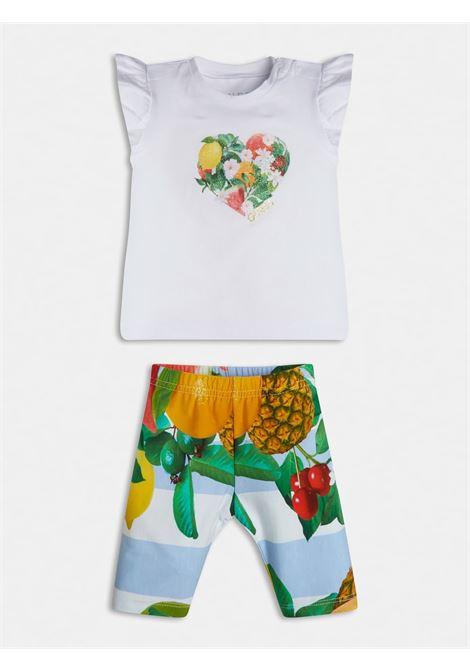 set 2 pezzi t-shirt e leggins GUESS kids | Set | A1GG15K6YW1TWHT