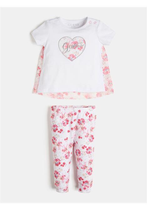 set 2 pezzi t-shirt e leggins GUESS kids | Set | A1RG06K6YW0TWHT