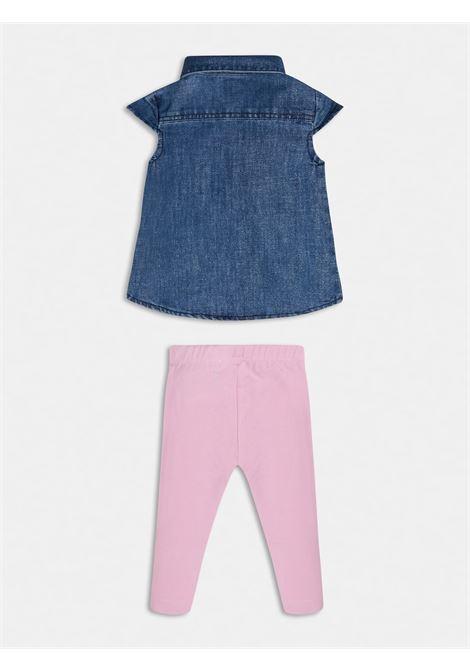 set 2 pezzi camicia e leggins GUESS kids | Set | A1RG13D3GA0LLBS